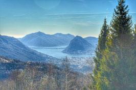 Vendesi terreno con vista lago a Tesserete con un progetto approvato