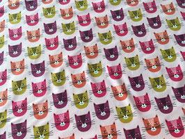 NEU!! Sommersweat - French Terry Smiley Cat