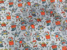 Jerseystoff Rolling Robots mint