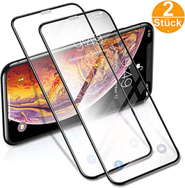 """Panzerglas 2er Set """"Premium"""" - IPhone Xr / 11"""