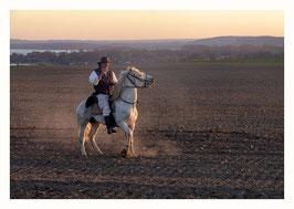 Reiter in der Uckermark