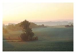 Herbstmorgen bei Fergitz
