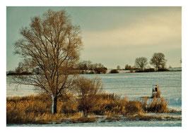 Kupferner Wintermorgen