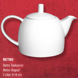 RETRO Teekanne