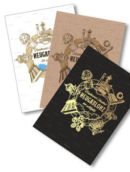 Postkarten-Set Motiv Neugablonz