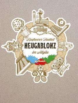 Sticker Motiv Neugablonz (Aufkleber)