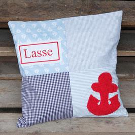 "Patchwork Kissen""Lasse"""