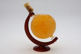 """Großer Globus aus Glas mit Qualitätswein """"Furmint"""""""