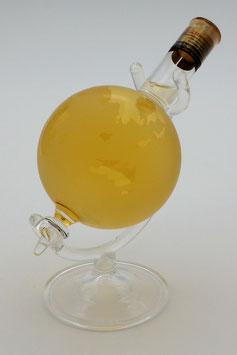 """Kleiner Globus aus Glas mit Qualitätswein """"Furmint"""""""