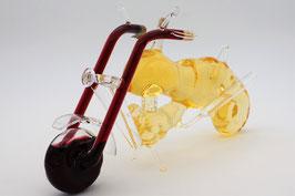 """Motorrad Chopper mit Qualitätswein """"Furmint"""""""