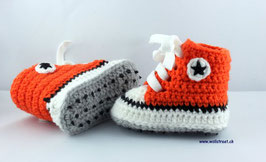 Baby Chucks PUMPKIN mit Antirutsch