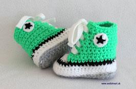 Baby Chucks NEON-GRÜN