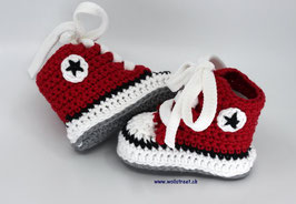 Baby Chucks Summer red