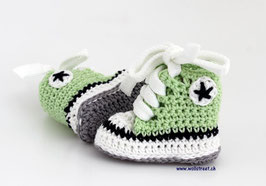 Baby Chucks Summer hellgrün / lindgrün