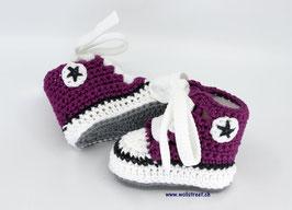 Baby Chucks Summer purple