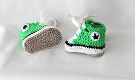 Baby Chucks Summer grasgrün