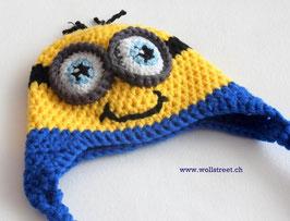 """Mütze """"Die Gelben"""" mit """"Ohrenläppchen""""  ★ Grösse M"""