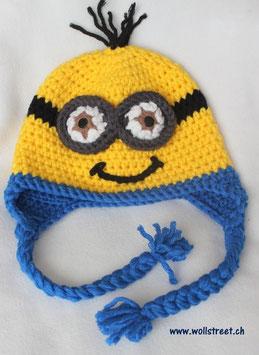 """Mütze """"Die Gelben"""" mit """"Ohrenläppchen""""  ★ Grösse L"""