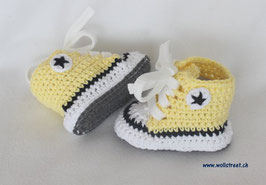 Baby Chucks Summer hellgelb