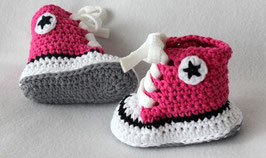 Baby Chucks Summer fuchsia