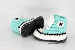 Baby Chucks MINT mit Antirutsch