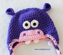 Happy Hippo violett ★ Grösse M