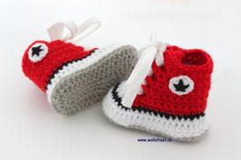 Baby Chucks RED