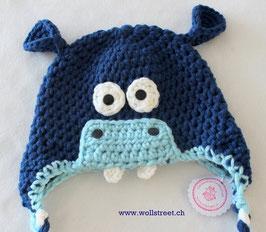 Happy Hippo dunkelblau ★ Grösse M