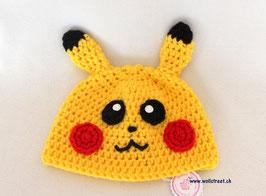 """Mütze """"Pikachu""""  ★ Grösse L"""