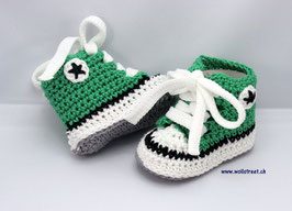 Baby Chucks Summer green
