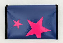 Windelbag ★ navy ★ pink Stars