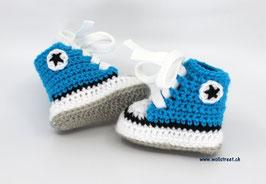 Baby Chucks Oceanblue