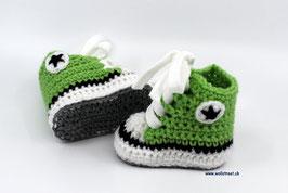 Baby Chucks hellgrün