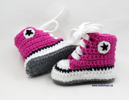 Baby Chucks DUNKELPINK