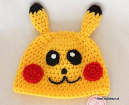 """Mütze """"Pikachu""""  ★ Grösse M"""