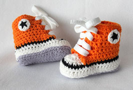 Baby Chucks Summer orange