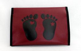 Windelbag ★ Bordeaux ★ black Feet