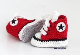 Baby Chucks Summer red