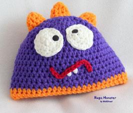 Hugo Monster ★ violett-orange ★ L