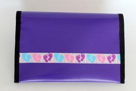 Gesundheitsheft-Hülle ★ violett ★ Little Feet