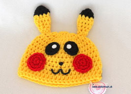 """Mütze """"Pikachu""""  ★ Grösse XS"""