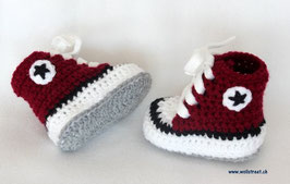 Baby Chucks BORDEAUX