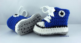 Baby Chucks ROYAL mit Antirutsch