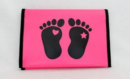 Windelbag ★ rosa ★ black Feet