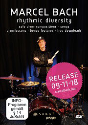 NEU!!! Marcel Bach - Rhythmic Diversity (2018)