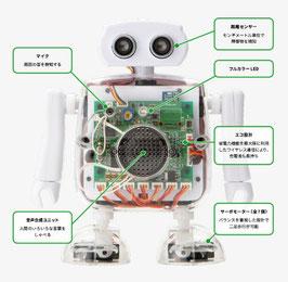 Qumcum本体 ロボットキット QX-001R3J