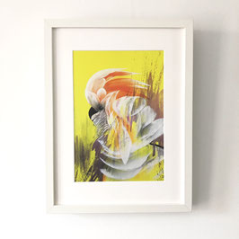 """Print and frame 30x40 cm  """"Burung Cacatua I"""".  Limited editions of 100."""
