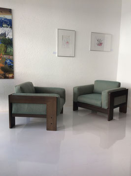 2 Gavina Bastiano Vintage Sessel Tobia Scarpa Knoll Neu aufgepolstert und neue Bezüge!