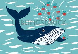 Geschenkewalfisch