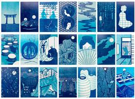 Die Pfingstrosenlaterne – Kassette mit allen Grafiken